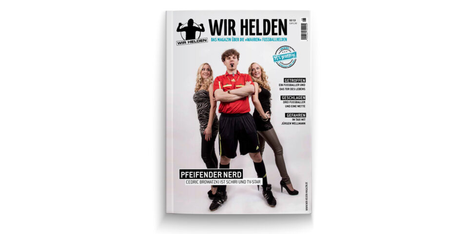 Fussballmagazin – Wir Helden
