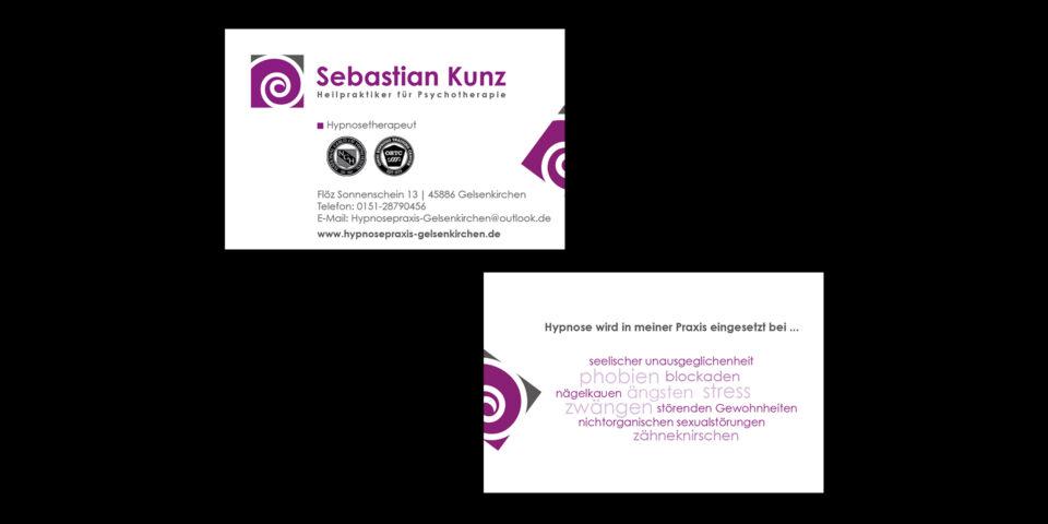 Diverse Visitenkarten Gassmann Design